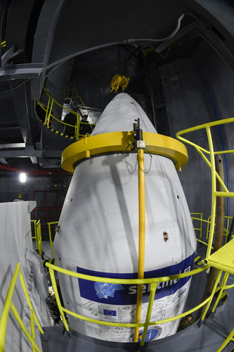 Sentinel-5P poised for liftoff