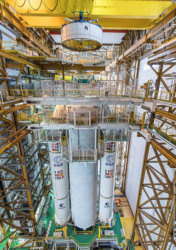 Ariane 5 taking shape