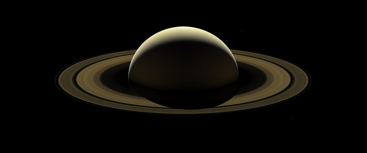 Cassini's farewell mosaic of Saturn