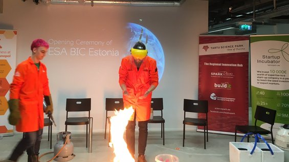 ESA BIC Estonia launched