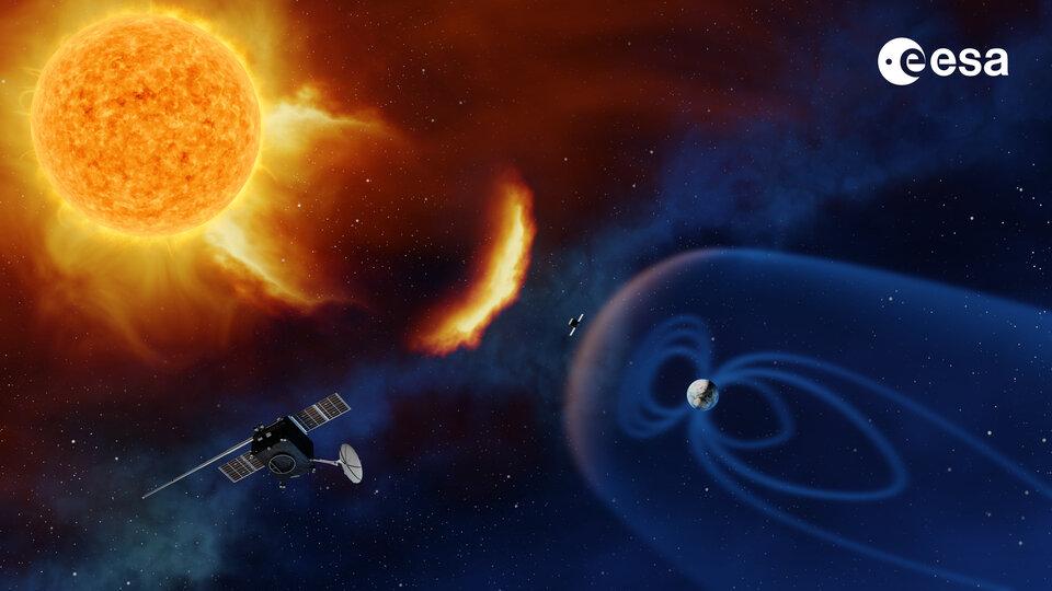 Spacecraft monitoring the Sun
