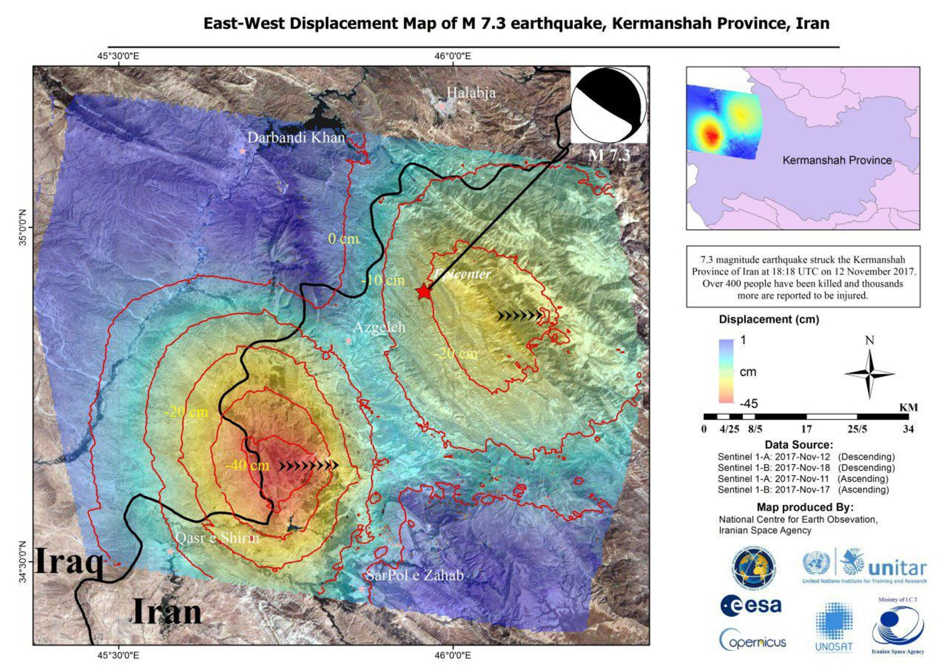 Iran earthquake