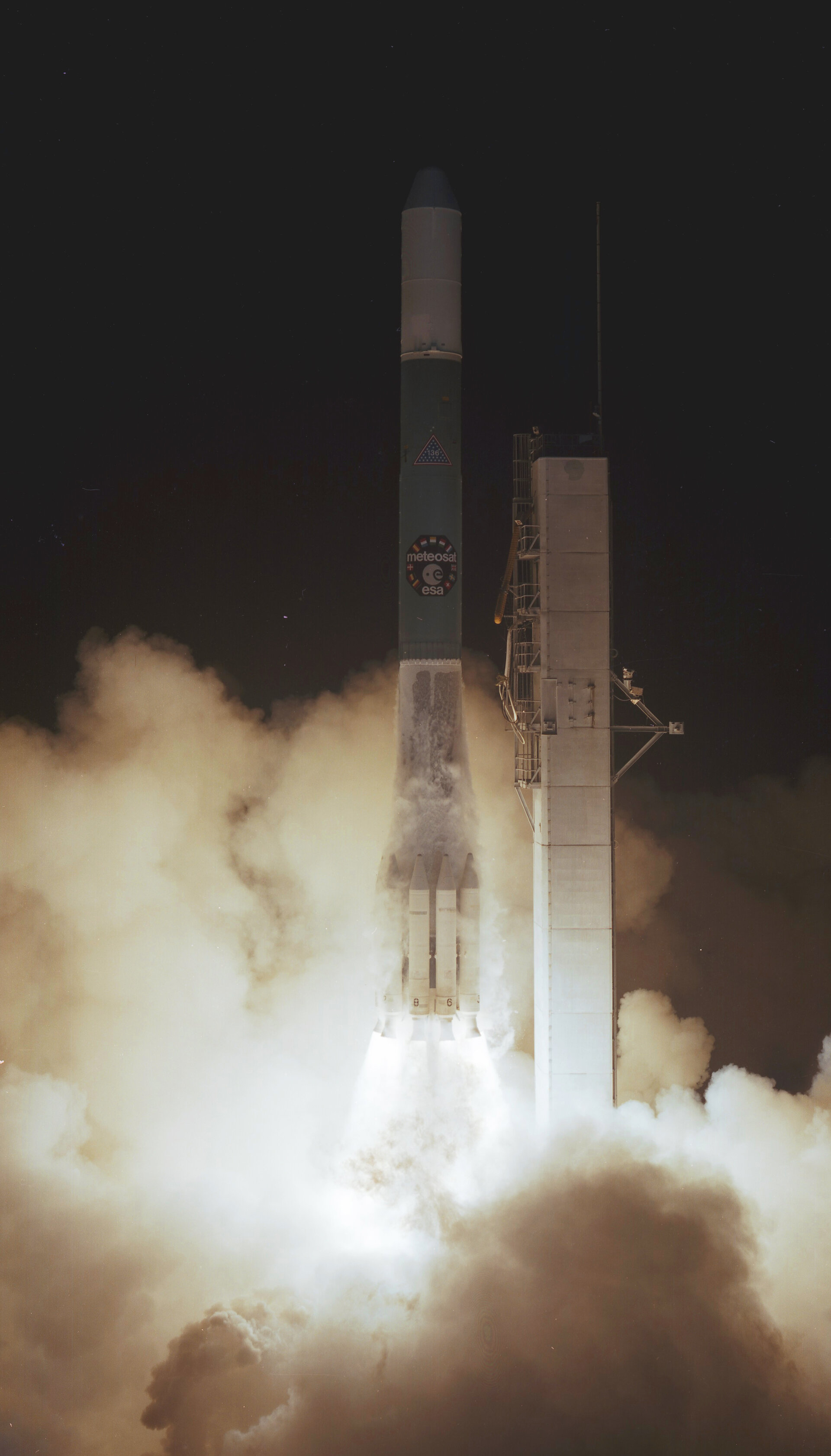 Meteosat-1 launch