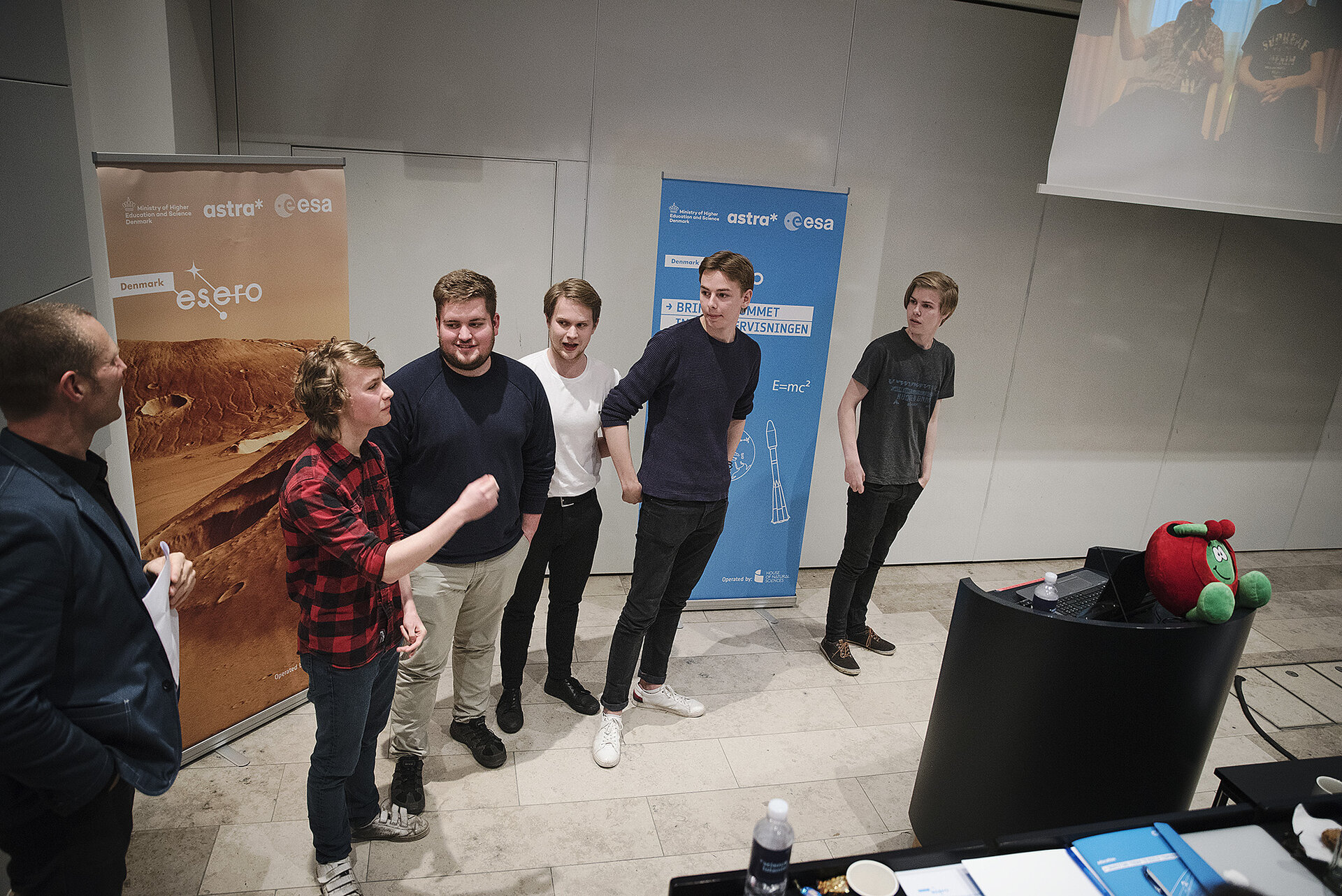 The Danish Cansat competition 2017 winning team