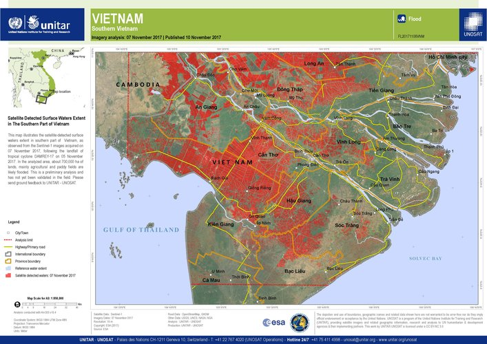 Vietnam flood