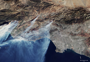 California in flames