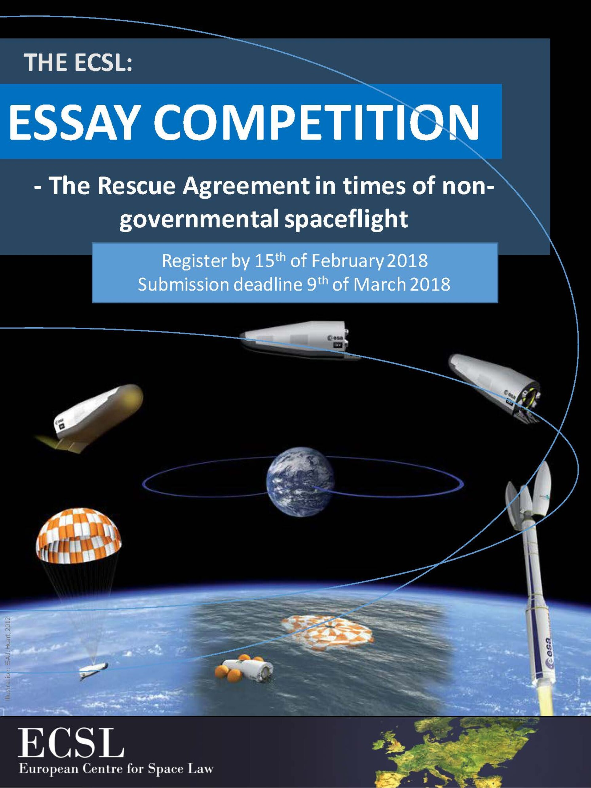 Essay competition poster
