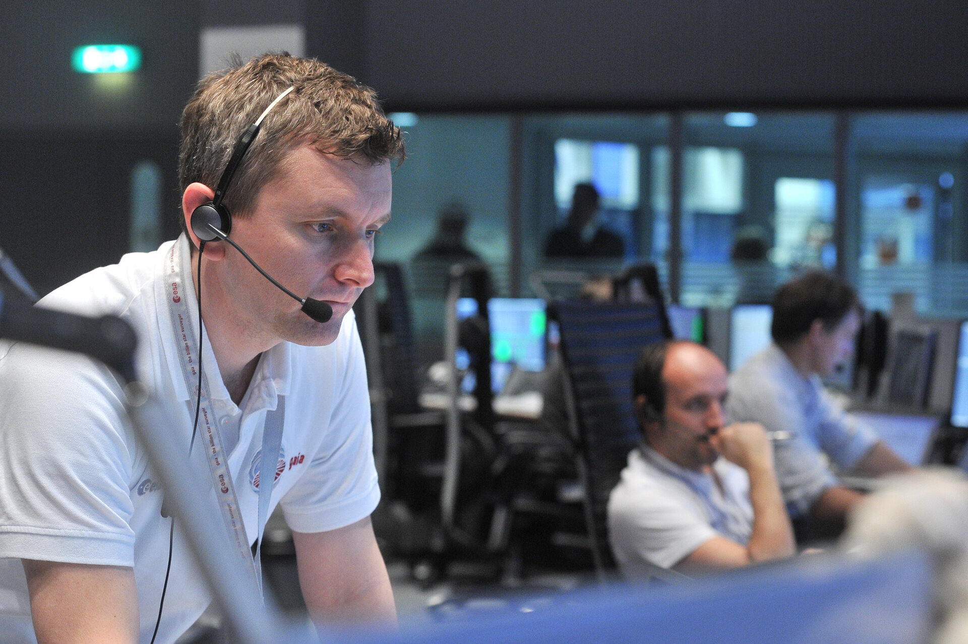 David Milligan leads the Gaia mission control team