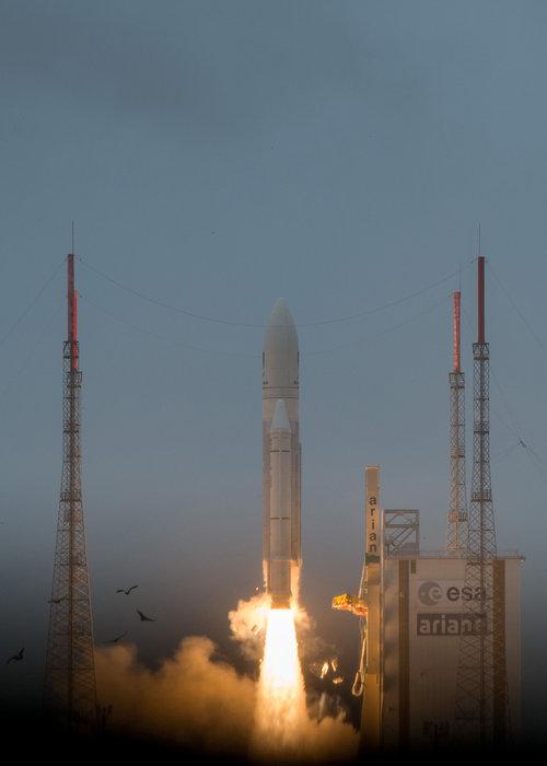 Décollage Galileo de Kourou en Guyane