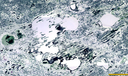 Lake Chany imaged by Proba-V