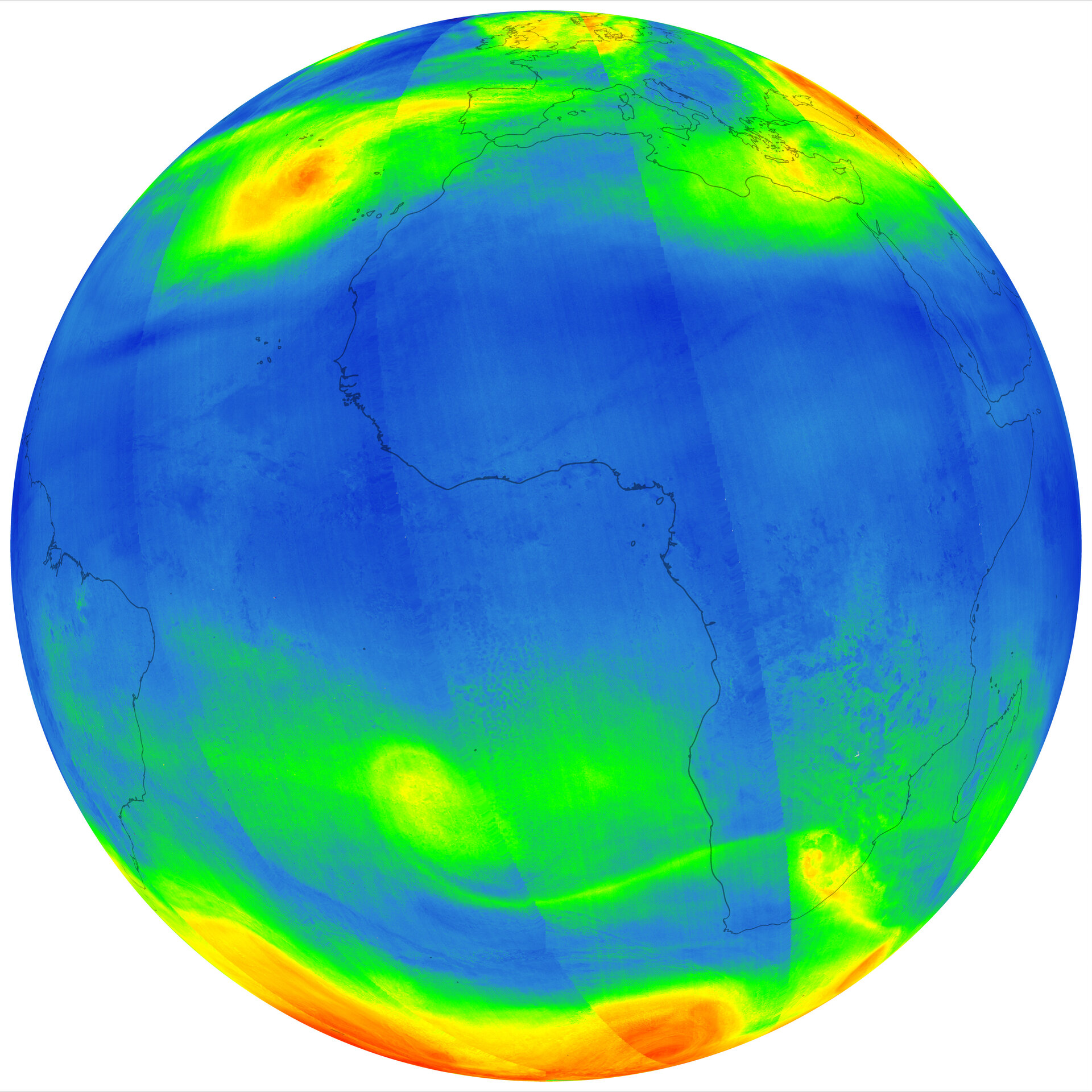 Ozone from Sentinel-5P