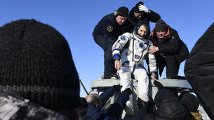 Paolo Nespoli back on Earth