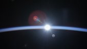 Earth's atmosphere: new results from the International Space Station
