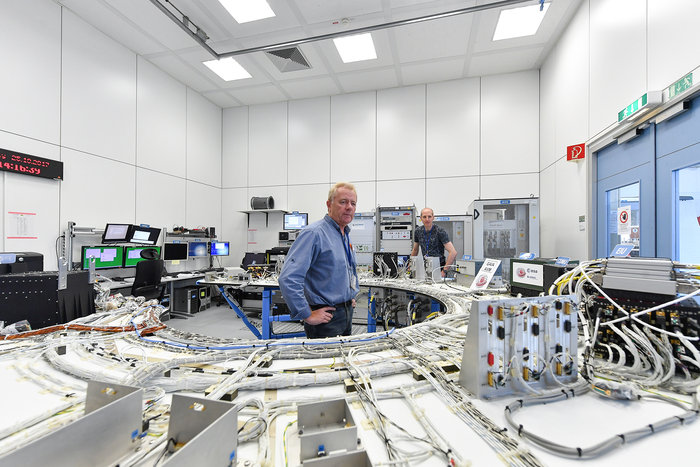 Engineering models enable engineers at ESOC to test software for the two spacecraft in a safe environment, before uploading to the actual spacecraft.