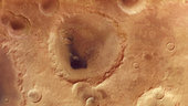 crater neukum named after mars express founder