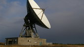 Goonhilly's GHY-6 antenna was built in 1985 and features a 32 m-diameter dish - it will be upgraded under ESA technical oversight to provide high bit-rate data links for future deep-space missions
