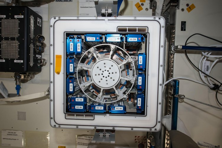 Kubik on Space Station