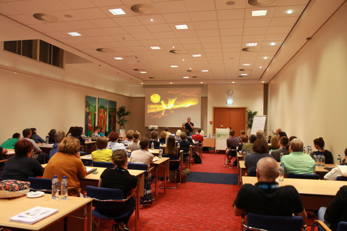 About ESA's Summer and Autumn Teacher Workshops! / Teachers