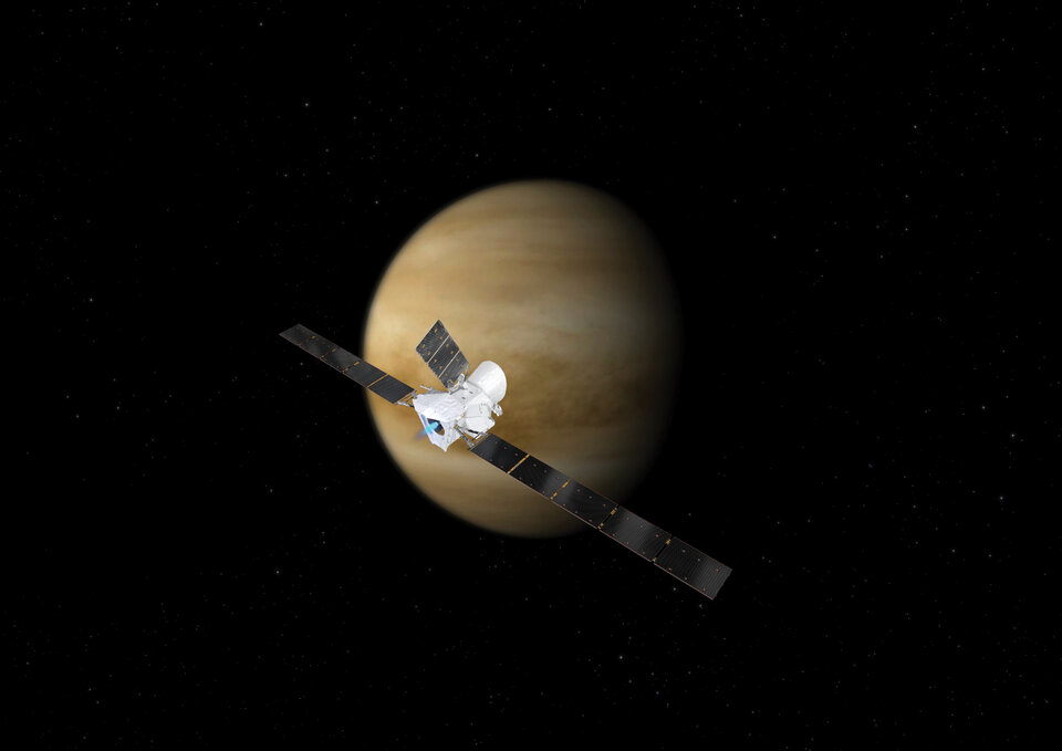 BepiColombo performs two flybys at Venus in addition to one at Earth and six at Mercury to place itself into the correct orbit around the innermost planet of the Solar System