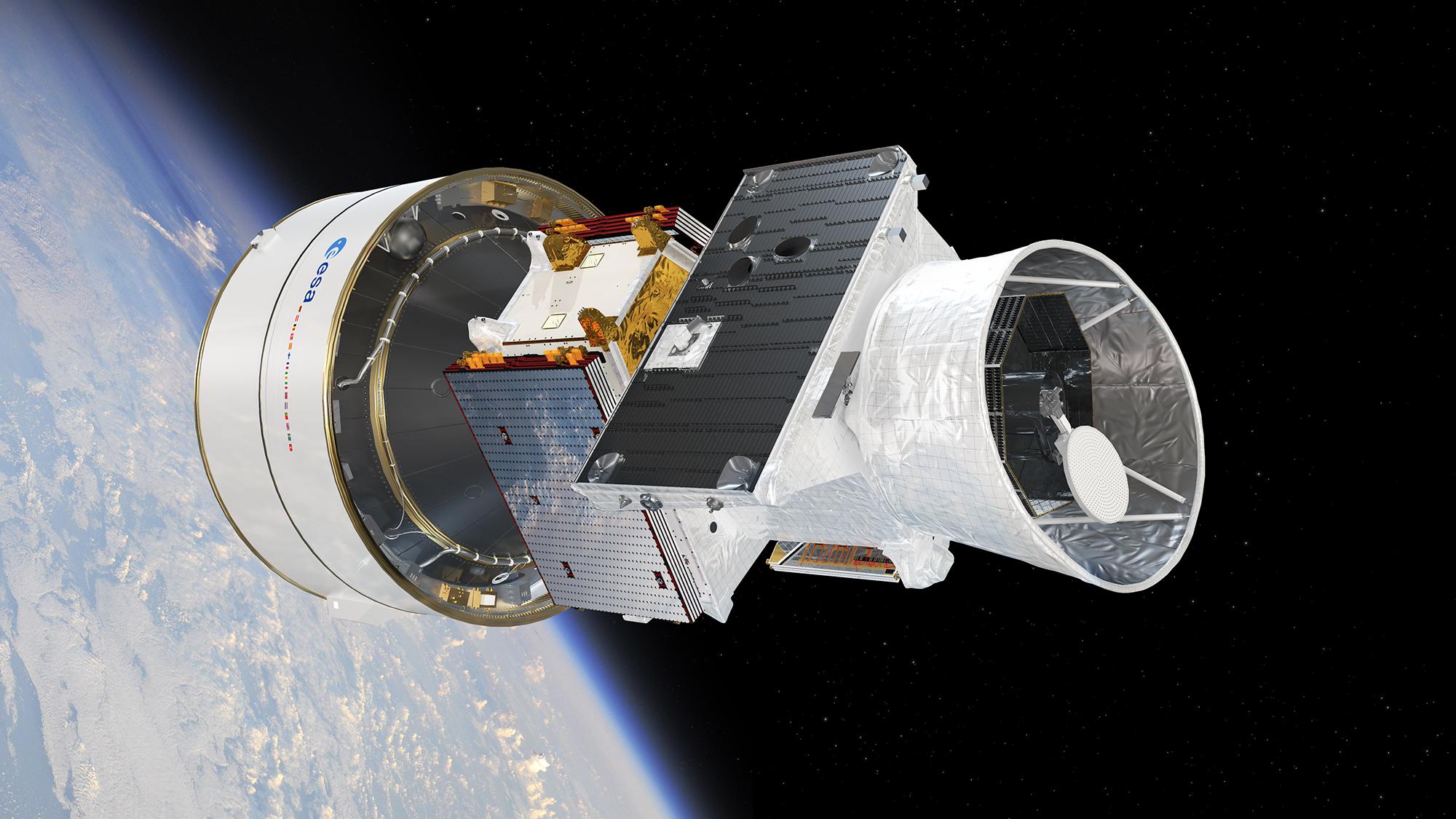 BepiColombo In Low Earth Orbit