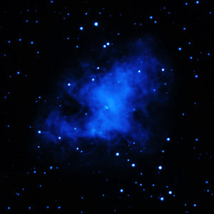 Crab Nebula in ultraviolet