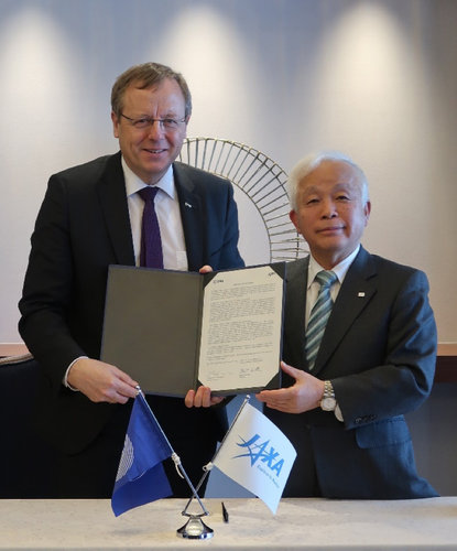ESA and JAXA confirm further cooperation in space