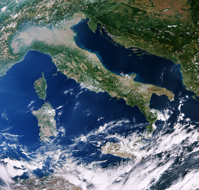 space in images 2018 03 italy and mediterranean