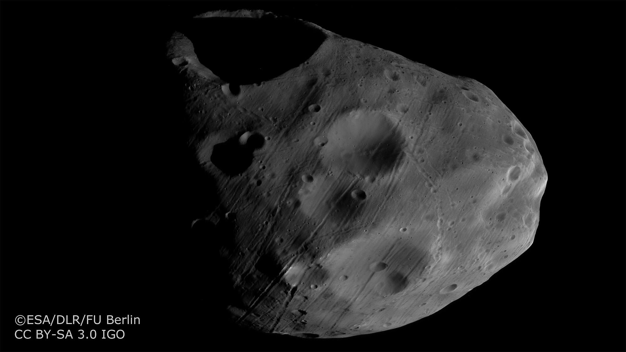 phobos mars moon gif - HD1920×1080