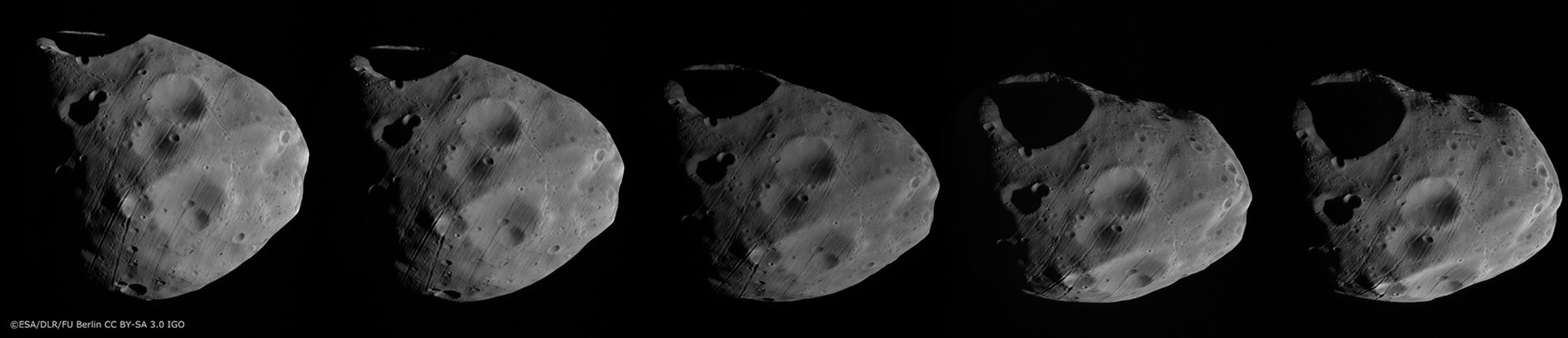 Phobos surface sequence