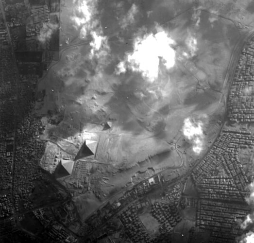 Proba-1 view of the Great Pyramids