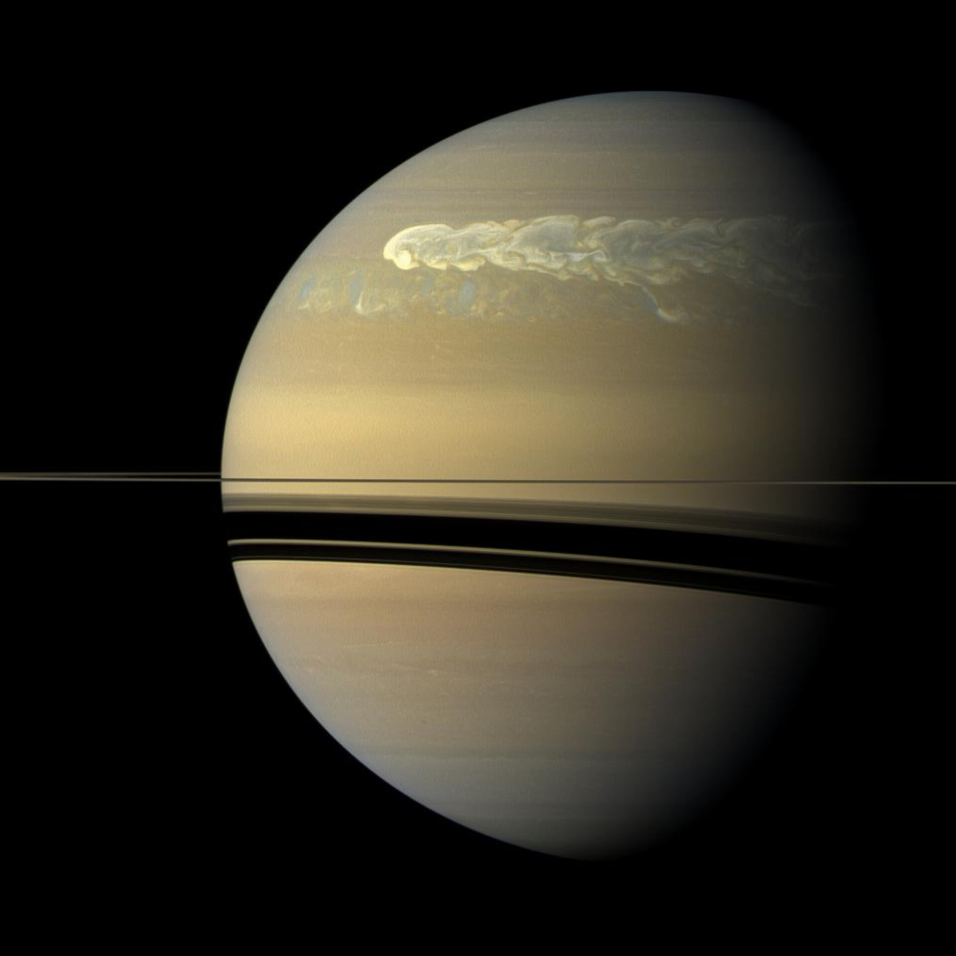 Saturn's greatest storm