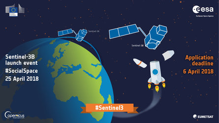 Sentinel-3B launch event