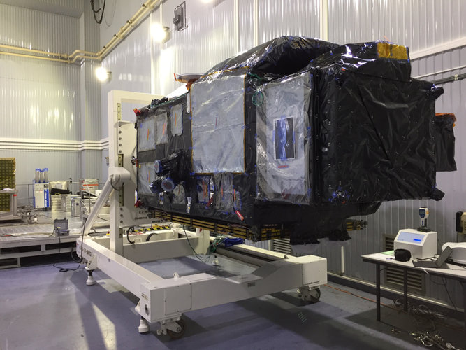 Sentinel-3B on the dolly