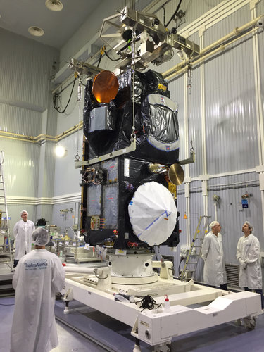 Sentinel-3B vertical for testing