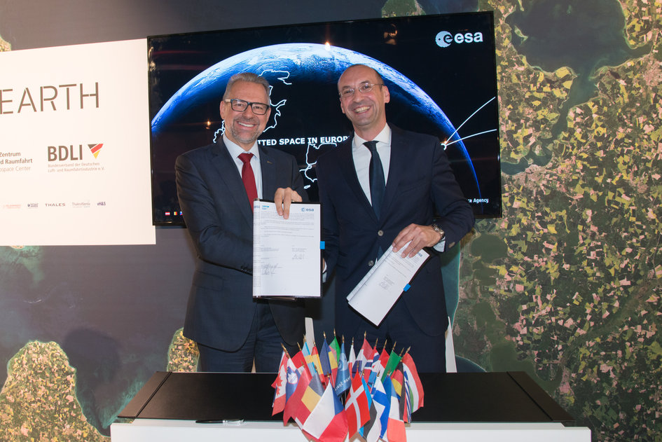 ESA and SAP join forces