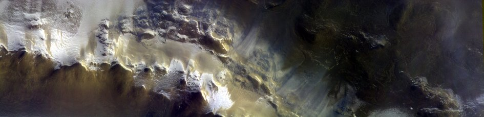 ExoMars images Korolev Crater
