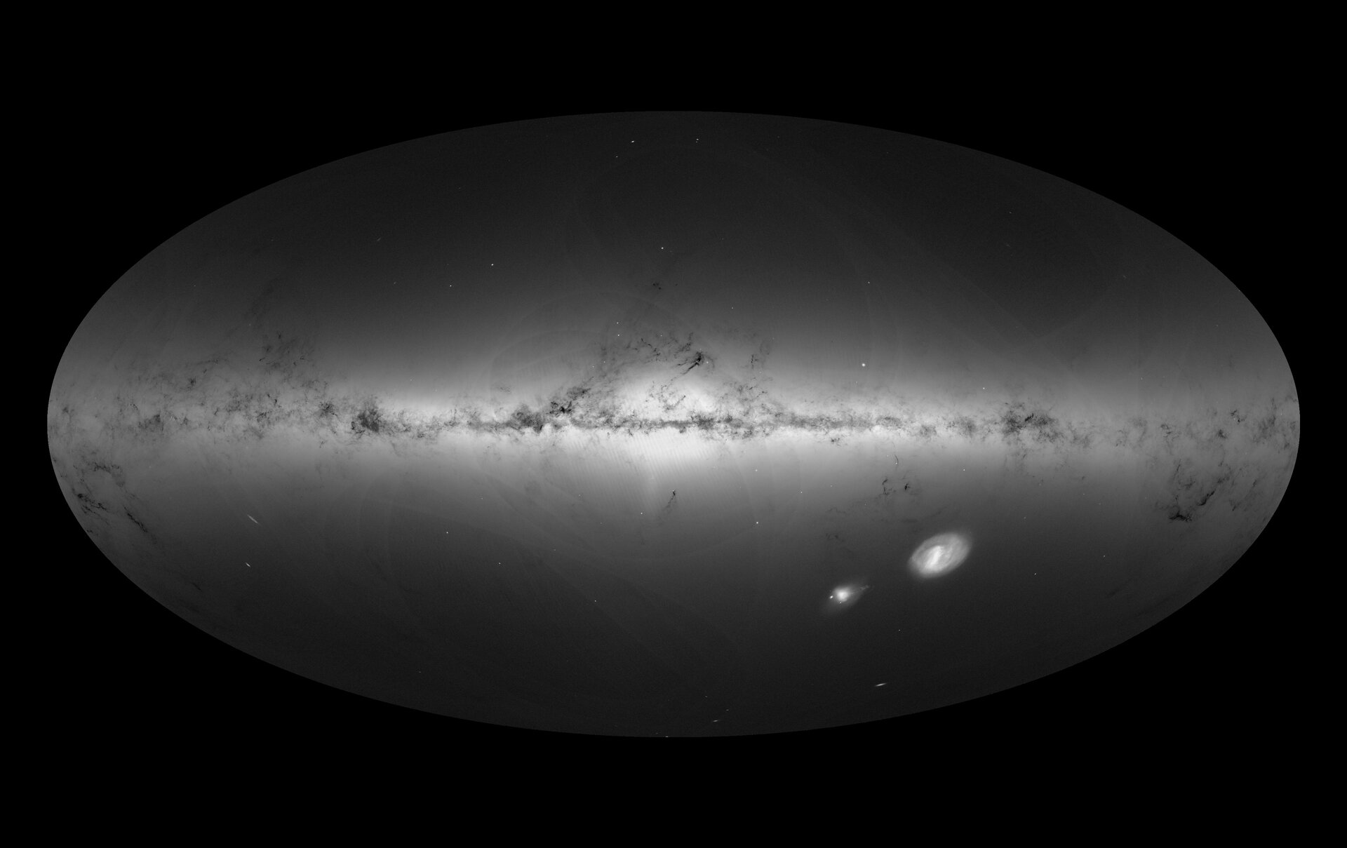 Gaia's new map of star density