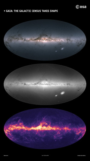 Gaia: the Galactic census takes shape
