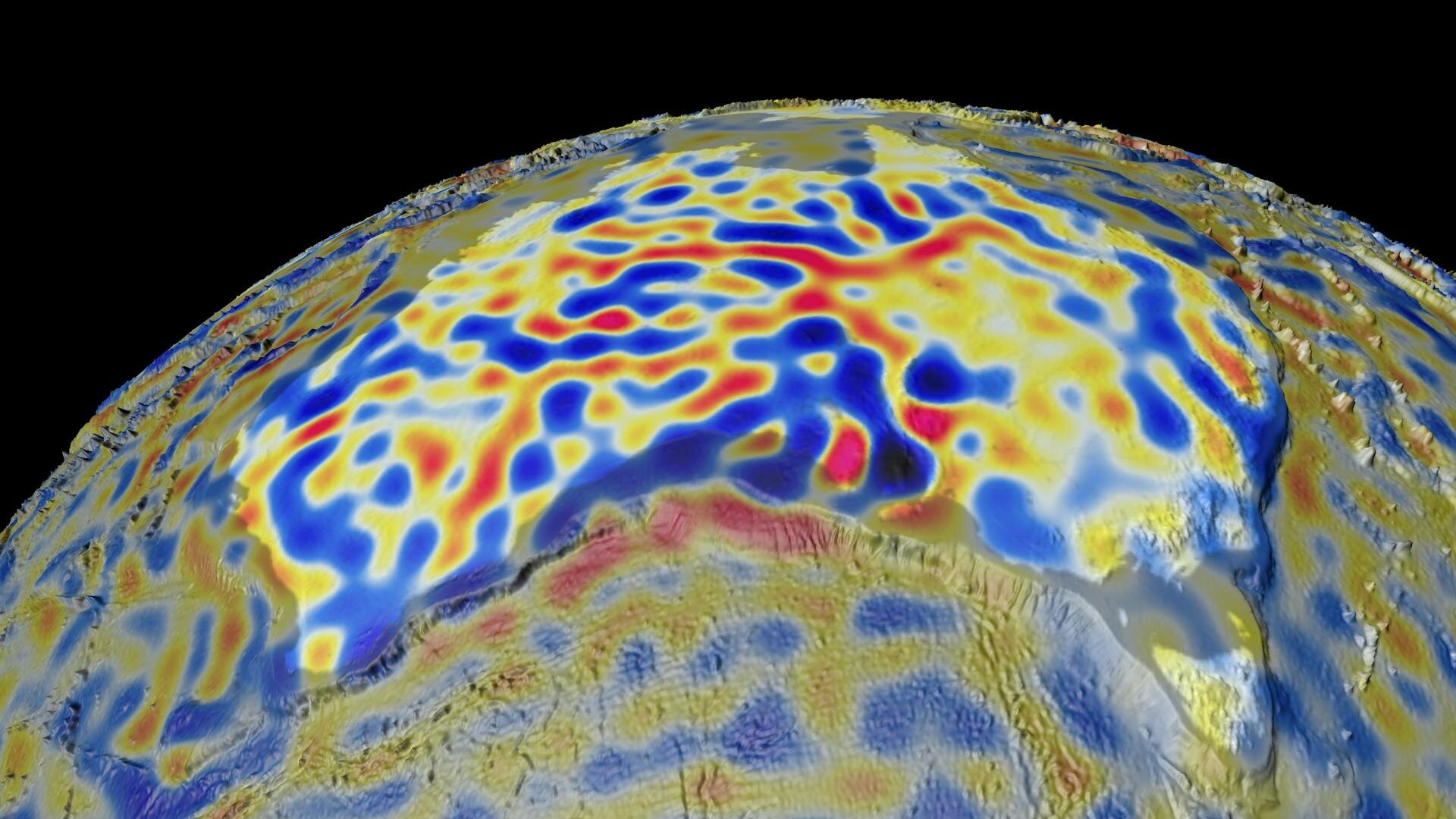 Magnetic lithosphere detailed