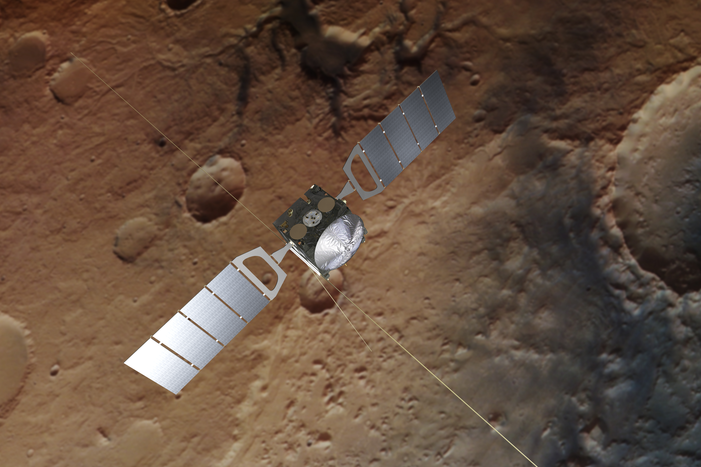 spacecraft on mars 2018 - photo #12