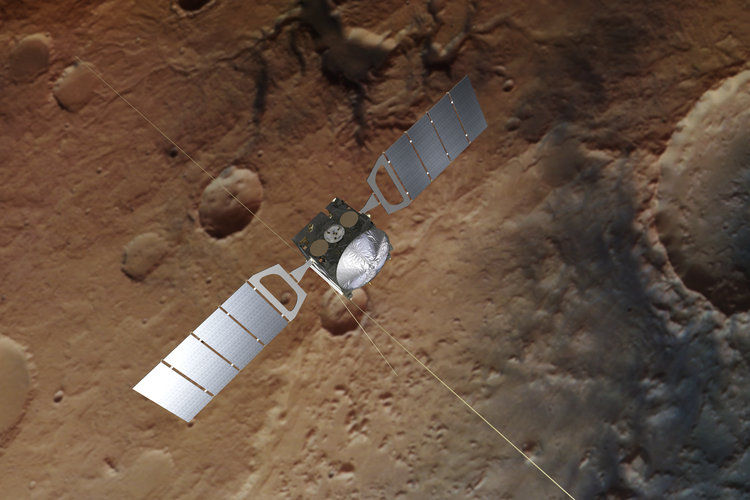 esa s mars orbiters did not see latest curiosity methane burst