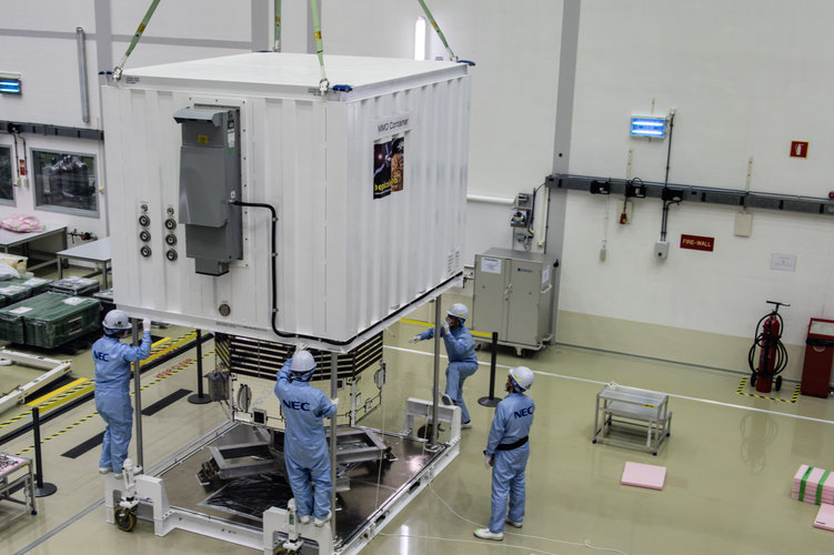 MMO packed for Kourou