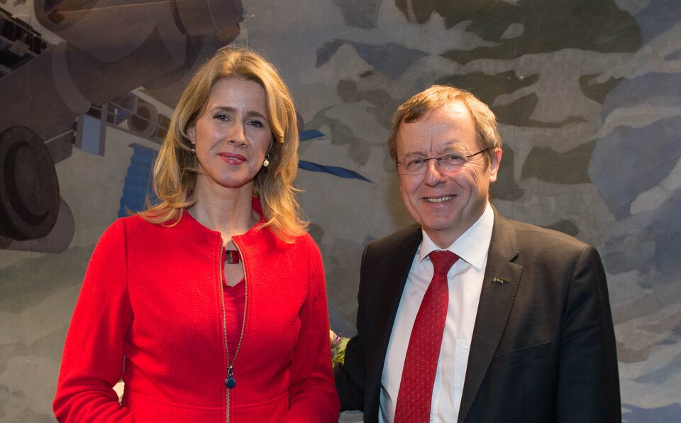 Mona Keijzer and Jan Wörner