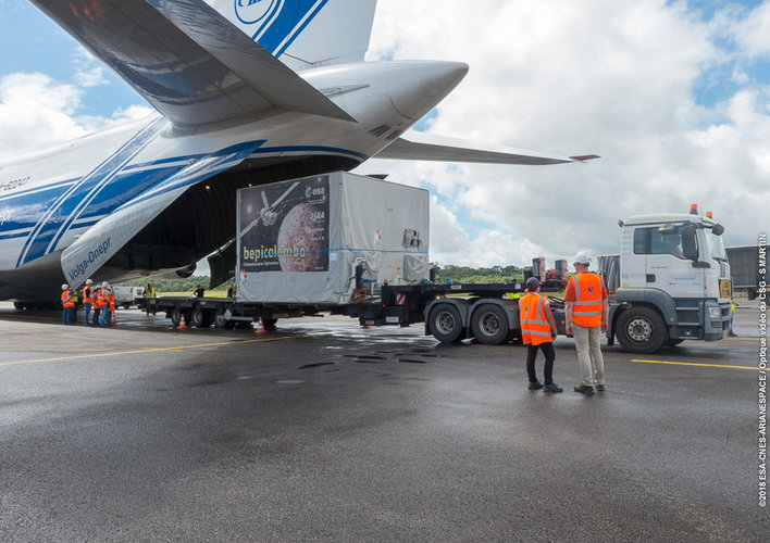 MPO arrives in Kourou