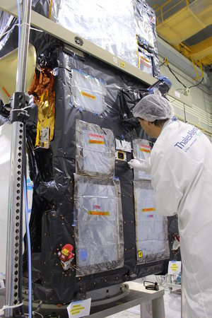Preparing Sentinel-3B for liftoff