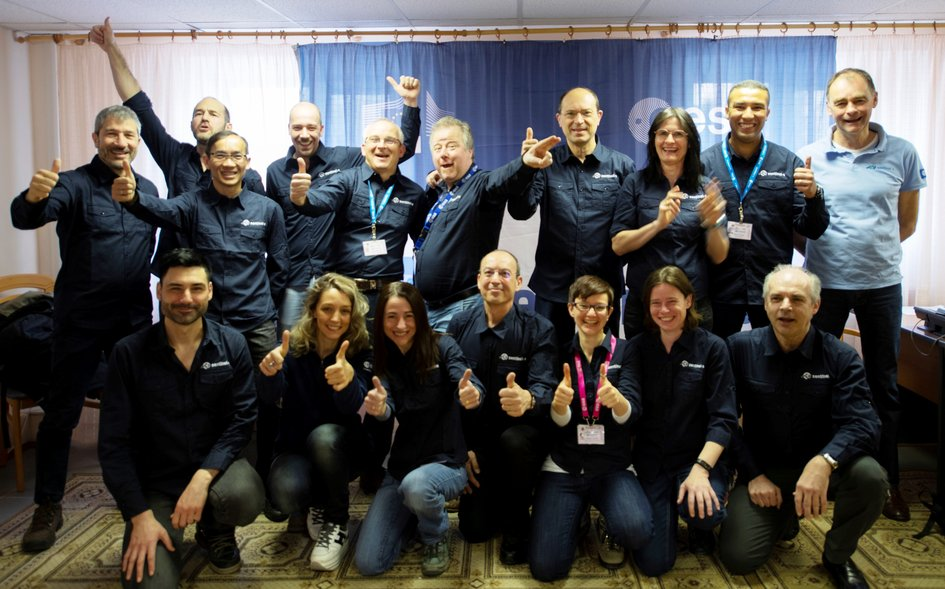 Sentinel-3B launch campaign team ready for liftoff