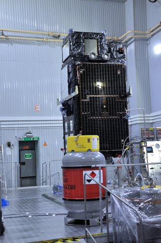 Sentinel-3B ready for fuelling