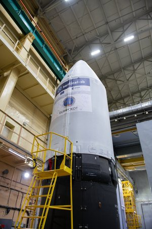 Sentinel-3B ready for roll out