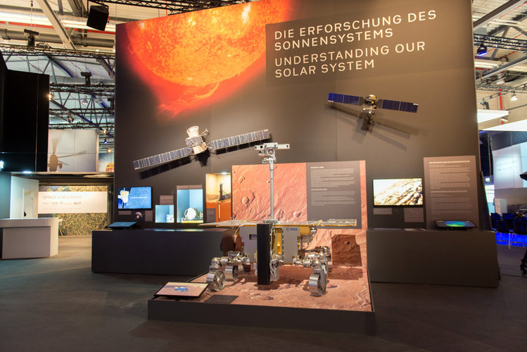 'Space for Earth' pavilion at ILA 2018