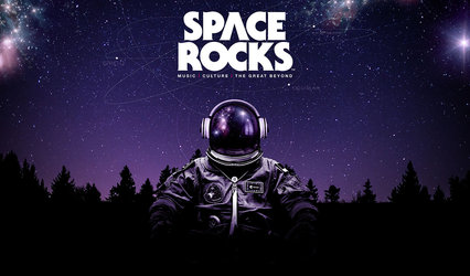 space rocks live cover